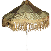 SALE Cyber Monday Elegant French Silk Parasol for Bebe or Large Fashion Doll!