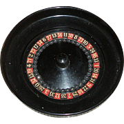 Miniature Roulette Wheel for Your French Doll!