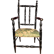 REDUCED Magnificent Napoleon III French Doll Chair!