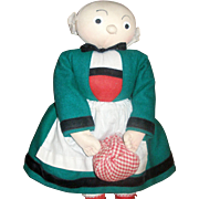 Bleuette's Nanny BECASSINE Doll from France!