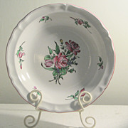 Vintage K&G Luneville, France Old Strasbourg Serving Bowl