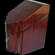 Antique Mahogany Letter Box 1860's