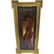Painting Oil on Canvas of Nude Woman by Steven Shortridge