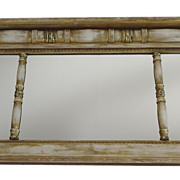 Large American Over Mantel Mirror