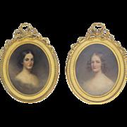 19th Century Portraits ofJulia and Serena Rhinelander