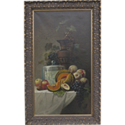 Flemish still life fruit Oil on Canvas in the Dutch style
