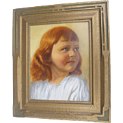 Portrait of Mary Jean Noble Closed corner Frame