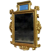 Fine Italian Carved Gilt Mirror 19th Century