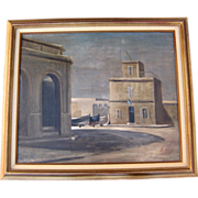 Oil on Canvas by Leonid Berman