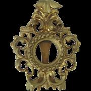 Italian Carved Gilt Rococo Small Frame