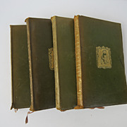 Four Volume Set of Books published by J.M. Dent & Co.