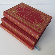 Set of Three Antique Books by C.F. Meyer