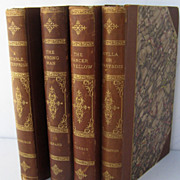 SOLD Leather Bond Books, Cambridge, Gerard, Horris and Broughton