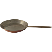 "10"" Copper Saute Pan by Copral made in Portugal"