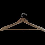 "Vintage Wooden Hanger Advertising ""The St. Anthony, San Antonio"""