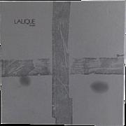 Lalique Empty Box for Capucines Coupe Bowl