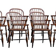 SALE English Ash And Elm Windsor Chairs