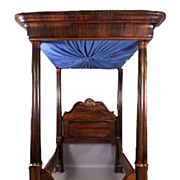 American Rosewood Four Poster Bed Mallard