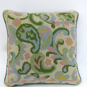 Handmade Vintage needlepoint Pillow.