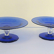 Pair of Venetian Footed Compotes