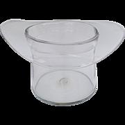 Vintage Large Blenko Top Hat Wine Cooler Ice Bucket