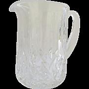Vintage Waterford Lismore Crystal Pitcher