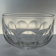 Large English Slab Cut Finger Bowl Early 19th Century