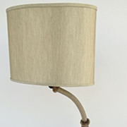 1930's Goose Neck Desk Table Lamp