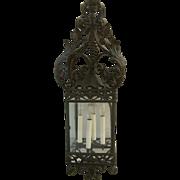 American Wrought Iron Hall Lantern