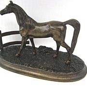 French Bronze of Colt Horse in Paddock