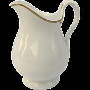 Old Paris White Gold Hot Milk Pitcher