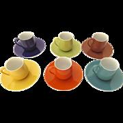 Vintage Coffee Espresso Cups By Johann Haviland Bavaria Germany
