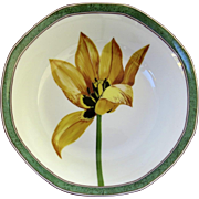 Vintage Laure Japy Tulips Limoges Paris France Bowls 6 3/4""