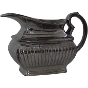 English Silver Luster Cream Creamer c 1820