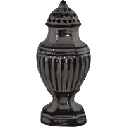 English Silver Luster Pepper Pot Castor Muffineer c 1830