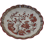 Vintage Spode India Indian Tree Rust Butter Pat