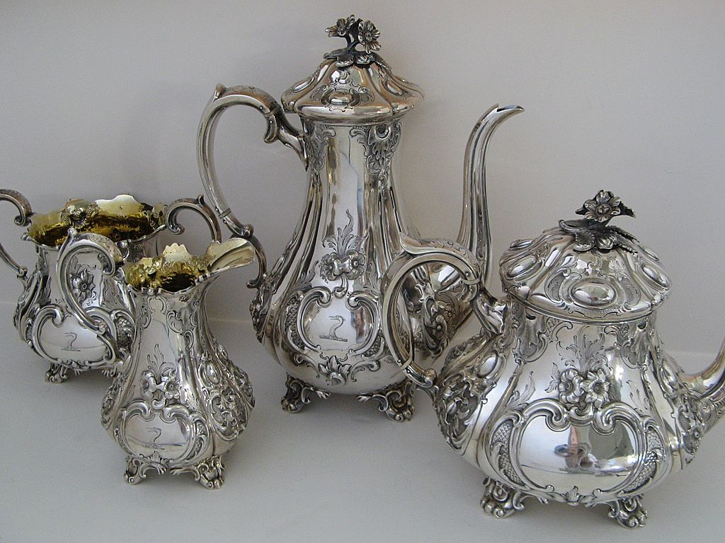 Sterling Silver Tea Set By Charles Reily Amp George Storer