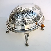 Mappin & Webb Breakfast Revolving Serving Dish