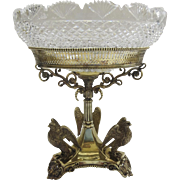 Enlgish England Centerpiece Tazza Epergne  by George Richmond Collins c 1835
