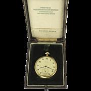 Waltham 19 Jewels Pocket Watch Packard Car Company 14K Case