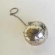 Sterling Silver American Tea Ball