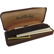 Sterling Silver Anson Purse Pen in Original Box and Paperwork Ballpoint