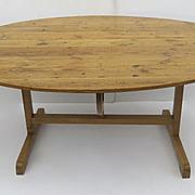 Irish Pine Oval Large Table