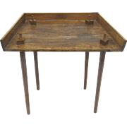 19th Century Traveling Cutting Tobacco Cigar Table