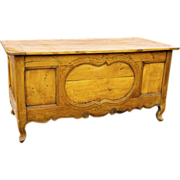 Antique French Provencial Fruitwood Desk