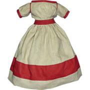 SOLD Early Linen Dress