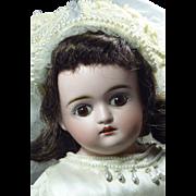 """SOLD 17"""" Kestner """"F"""" Turned Shoulder Head Bride"""