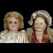 SOLD Estate Sale - 2 Smaller Dolls - Red Tag Sale Item