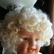 "REDUCED Heubach little laughing boy Doll 8"" tall Socket Head Original Body Mold # 7604"