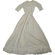 Extra Long Antique Baby Gown,